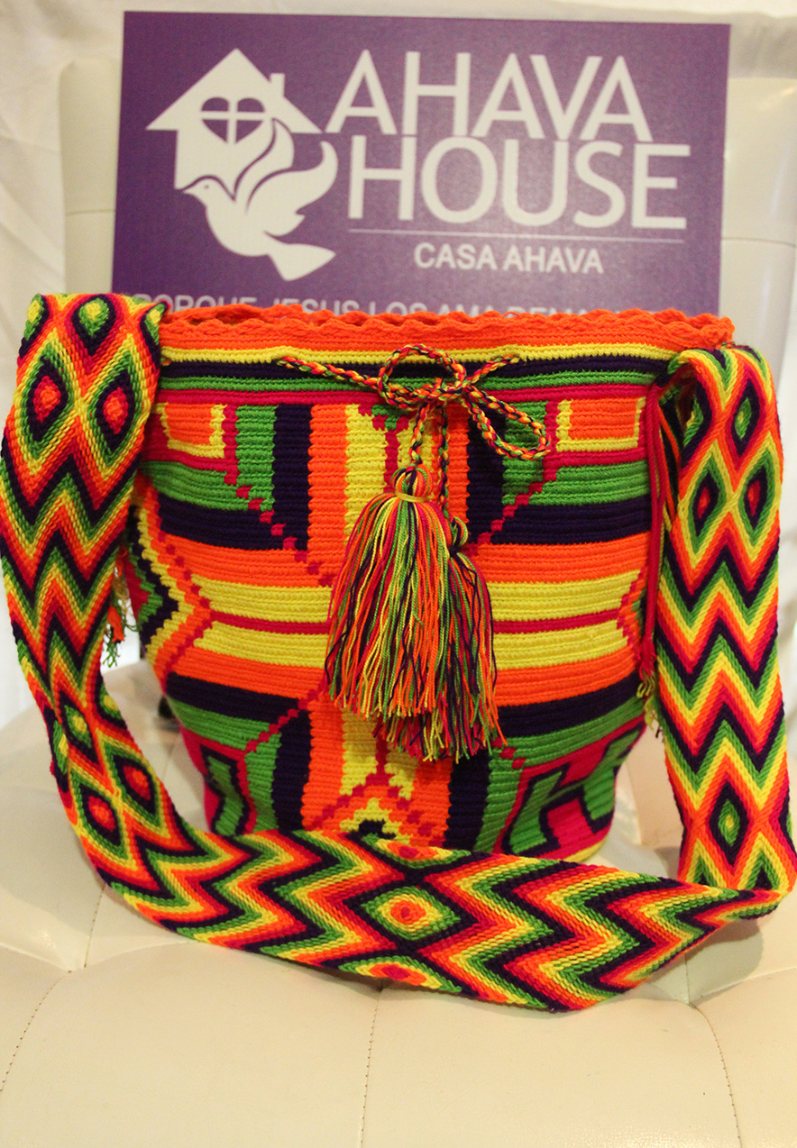 Wayuu Mochila Rancheria Ipamana, iiwa (Wayuunaiki for Star)